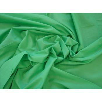 Ярко-зеленый батист из хлопка