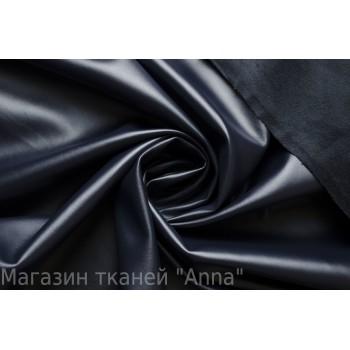 Искусственная кожа/замша синего оттенка - Темная ночь