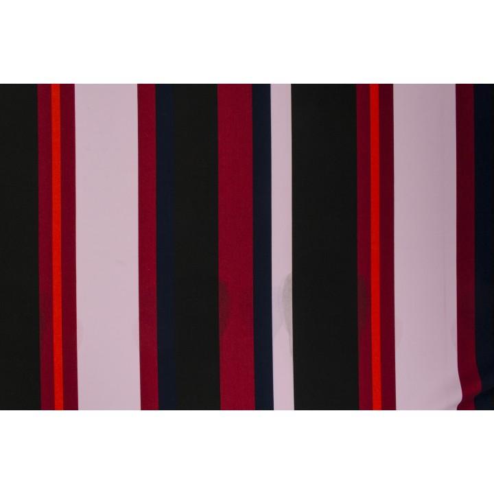 Мягкая ткань на основе п/э в полоску разной ширины