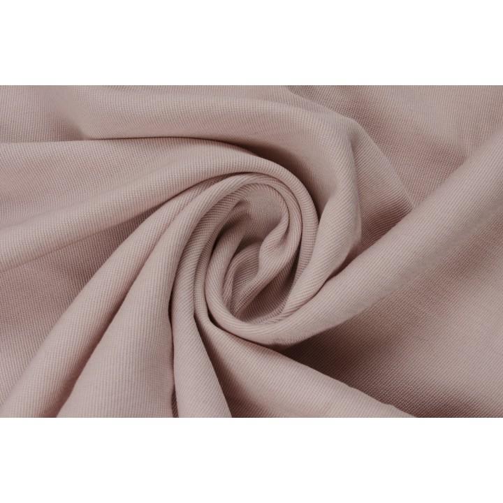 Плательная вискоза - цвет пыльная роза