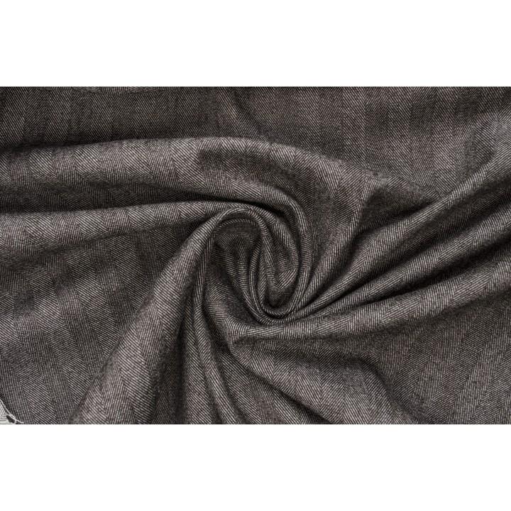 Мягкая шерсть с добавлением хлопка - узор Елочка