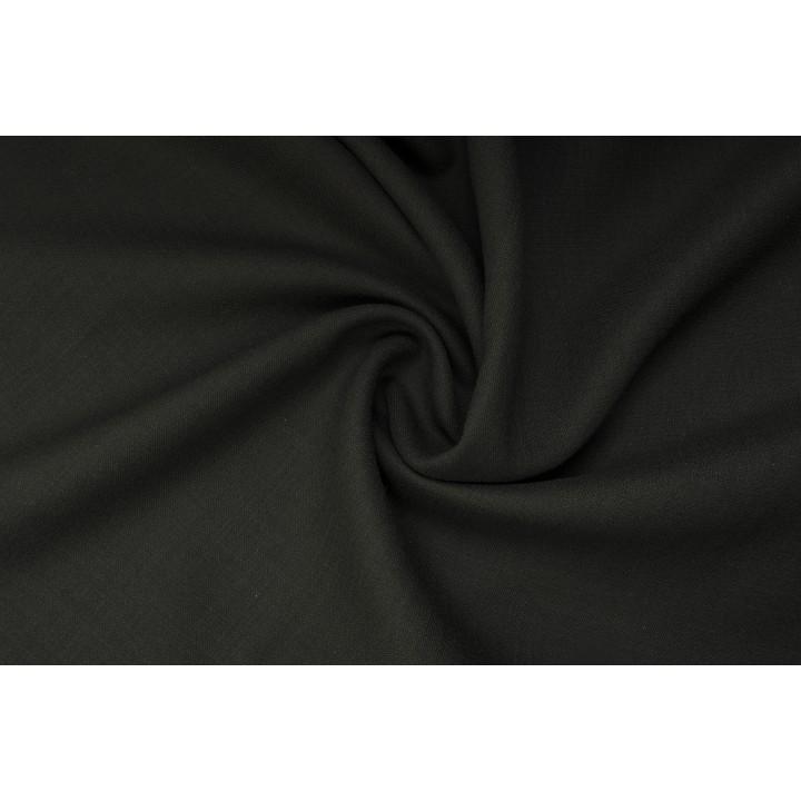 Плотная костюмнаят ткань глубокого оливкового цвета