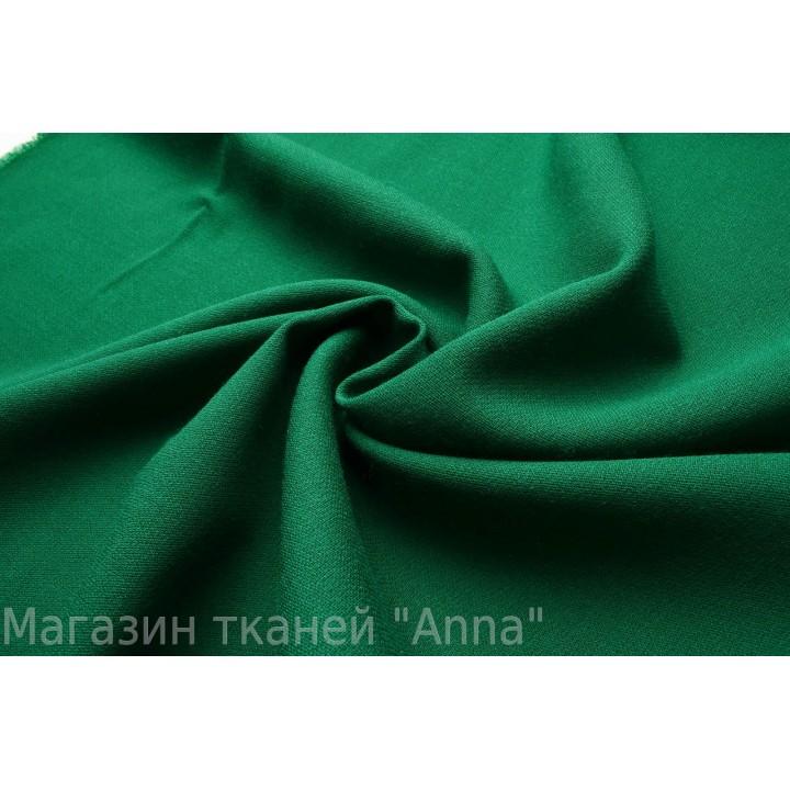 Темно-зеленая мягкая шерсть