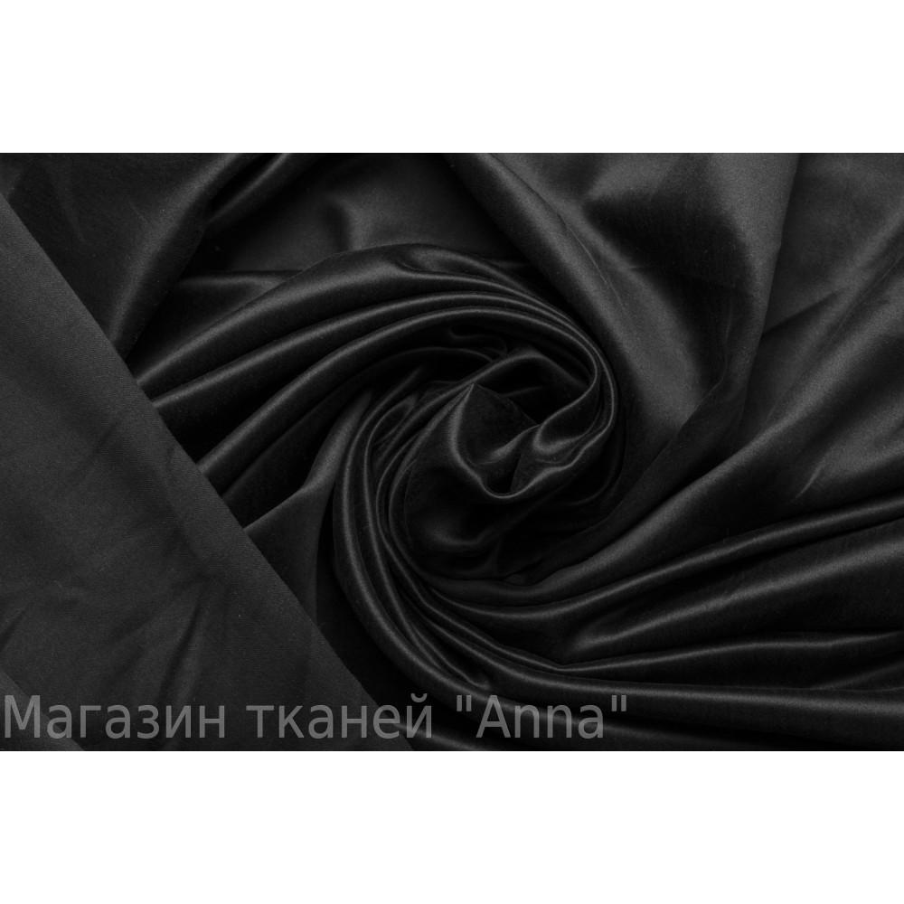 черная ткань для платья купить