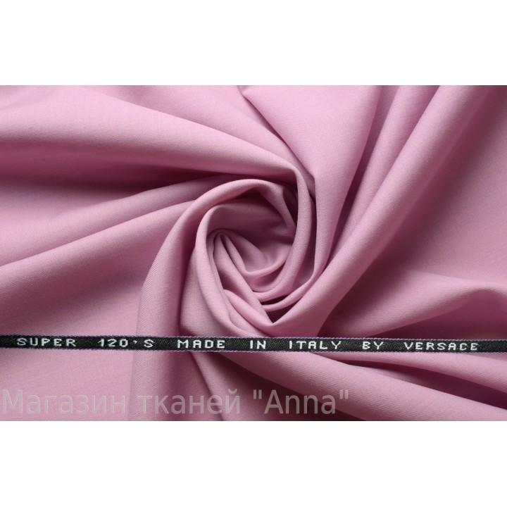 Шерсть Versace лилового цвета