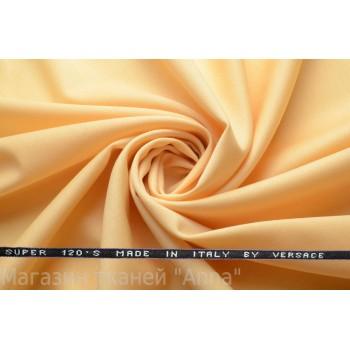 Костюмная шерсть Versace super 120 - теплый желтый