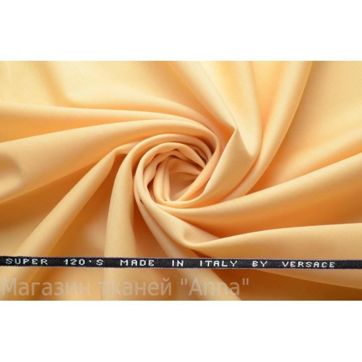 оттенок желтого - светло горчичный, мягкая тонкая костюмная шерсть