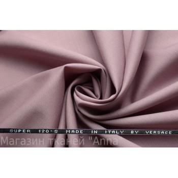 Костюмная ткань пепельная роза - Versace super 120