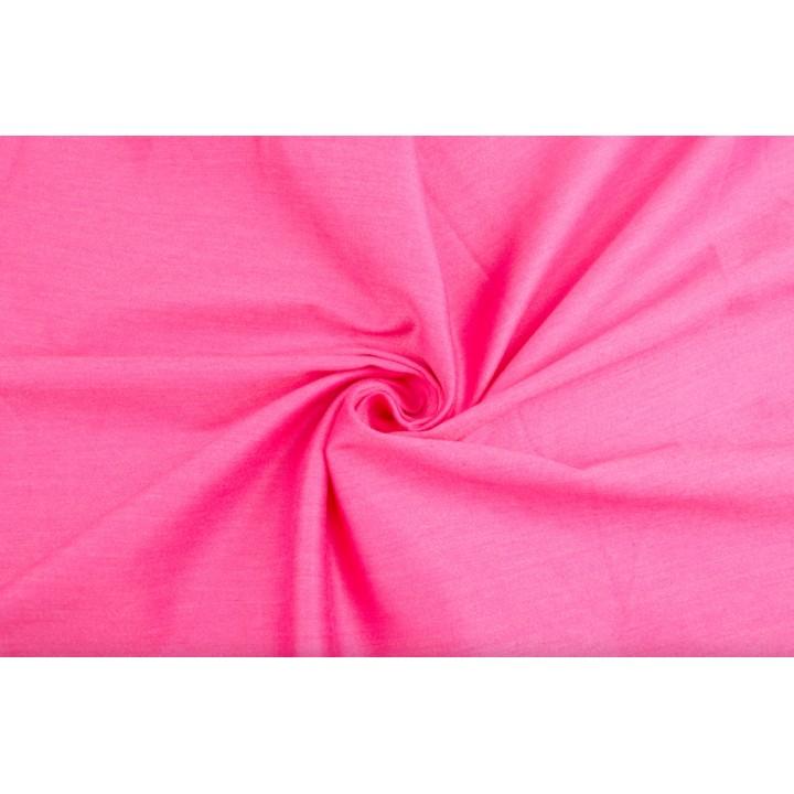 Ярко розовый коттон стрейч для одежды