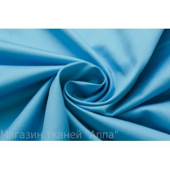 Плотный Коттон красивого голубого оттенка