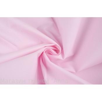 Нежно розовый плотный хлопок для платья