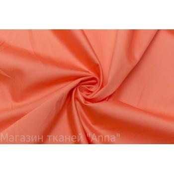 Гладкий коттон красивого оранжевого оттенка