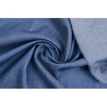 Мягкий джинс голубого цвета