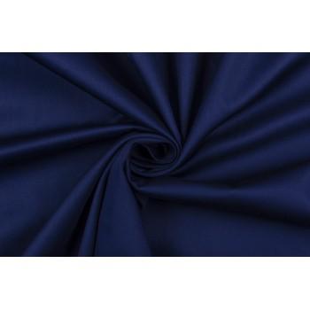 Насыщенный синий - плательный коттон-стрейч