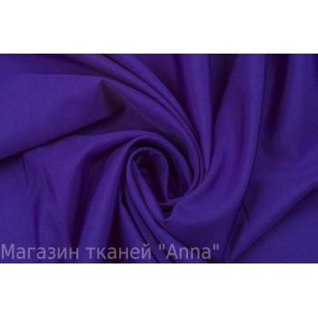 Ярко-фиолетовый креп на основе синтетики