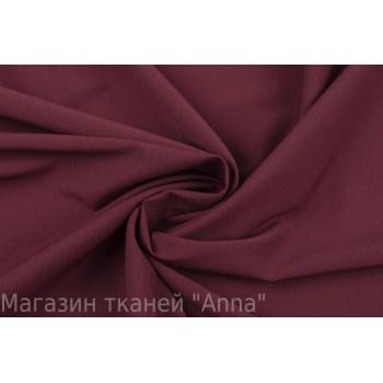 Темно-бордовый крепдешин с эластаном в бордовом цвете