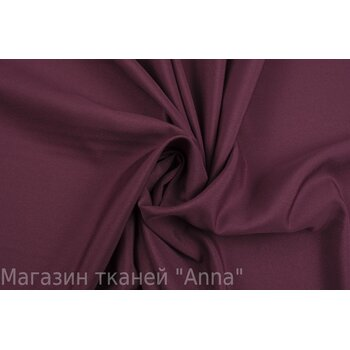 Креп цвета марсала - синтетика