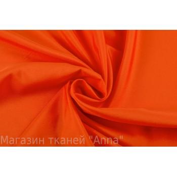 Крепдешин оранжевого цвета