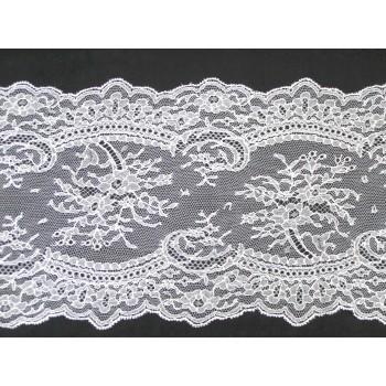 Кружево Шантильи Dentelles Mery №1030-18-19 blanc