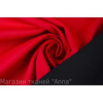 Плотная и мягкая красная курточная ткань