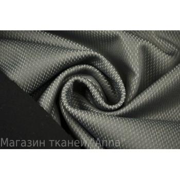 Темно-серая курточная ткань с перфорацией