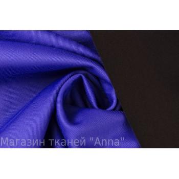 Плотная и мягкая синяя курточная ткань