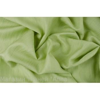 Лен-жатка в спокойном светло зеленом цвете