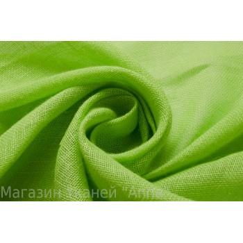 Лен ярко-зеленого цвета