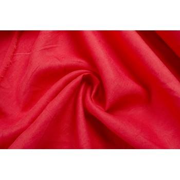 Тонкий лен ярко-красного цвета