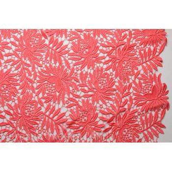 Макраме кораллового цвета