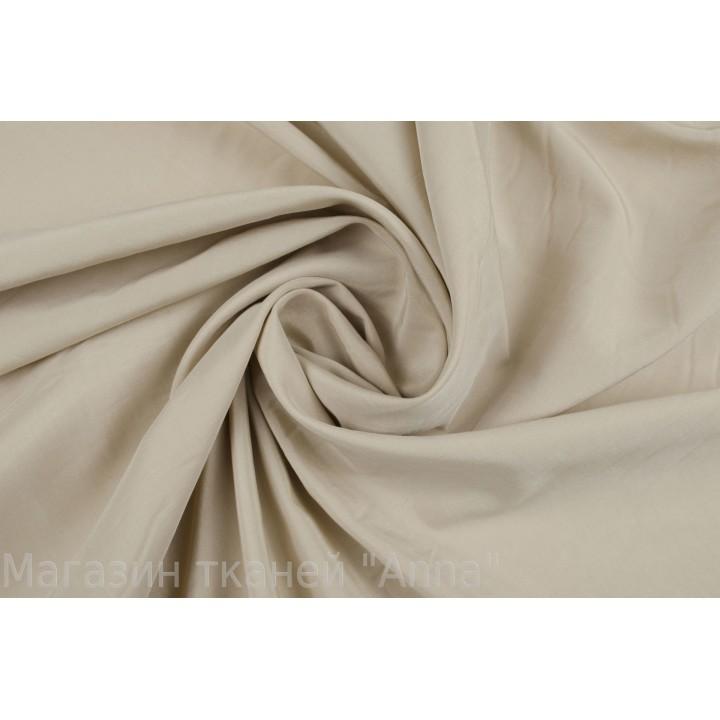 Песочный гладкий маркизет для платья или блузки