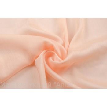 Полупрозрачный маркизет персикового цвета
