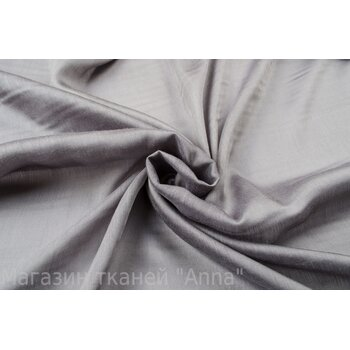 Серый шелковый маркизет