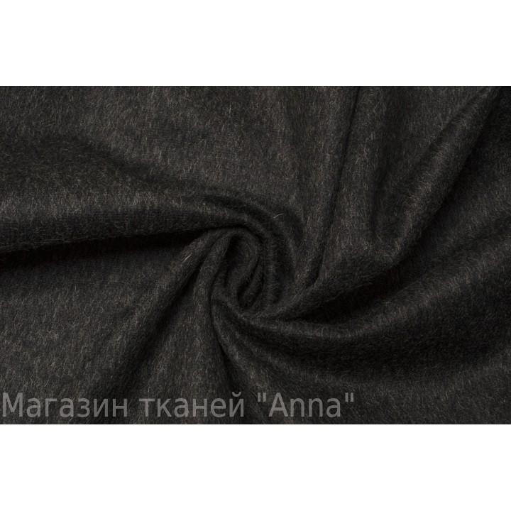Темно-серая шерсть для пальто или костюма