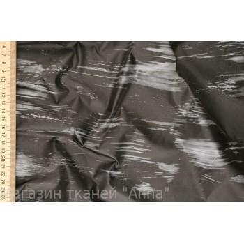 Плащевка в черно-сером тоне