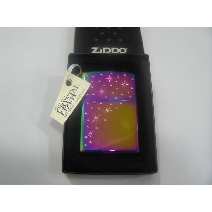 Зажигалка Zippo инкрустированная кристаллами Swarovski