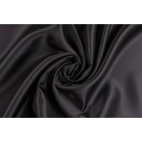 Черная подкладка из вискозы - плотная и гладкая