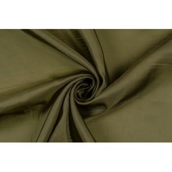 Темно-оливковая тонкая подкладка без блеска