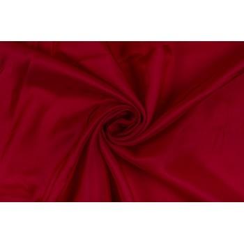 Вискозная подкладка ярко-красного цвета