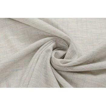 Бежевая хлопковая ткань для платья или сорочки