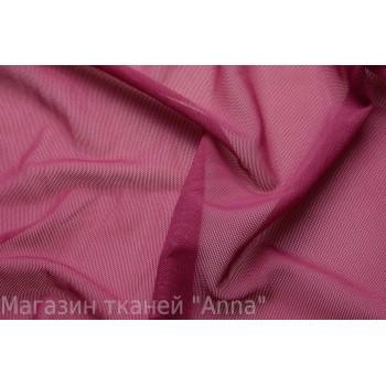 Мягкая темно-розовая сетка