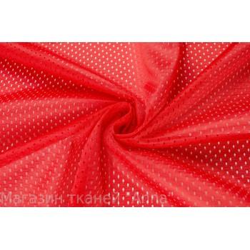 Гладкая красная сетка с мелкой ячейкой