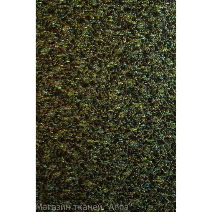Шанель - темно зеленая с узором