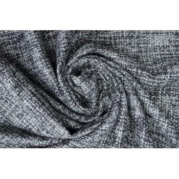 Ткань Шанель цвета серый меланж