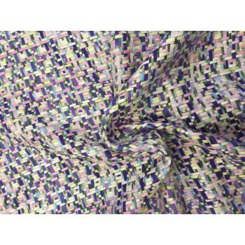 Эксклюзивная Шанель - переплетение полосок из хлопка