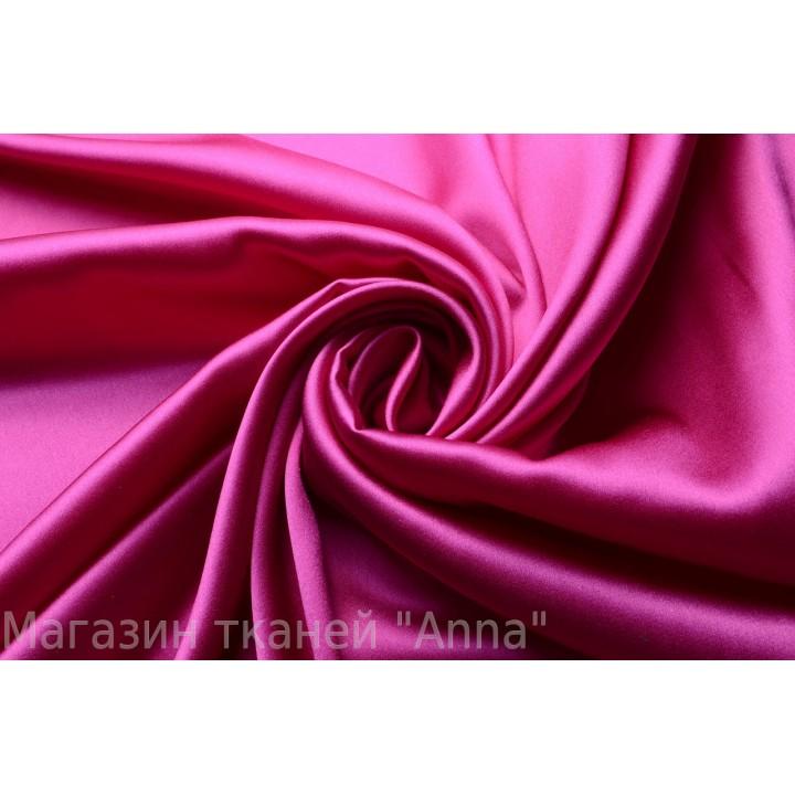 Шелковый атлас - Оттенок яркого розового (фуксия)