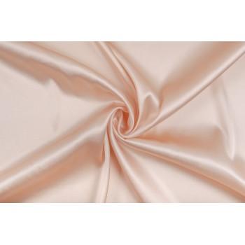 Нежный персиковый шелковый атлас