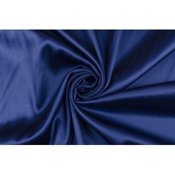 Шелковый атлас красивого темно-синего цвета