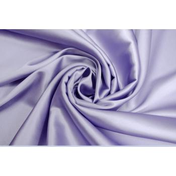 Шелковый атлас стрейч цвета лаванды