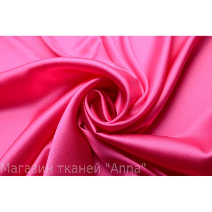 Яркий теплый оттенок розового шелка